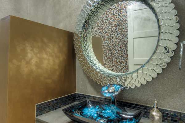 Contemporary Sink - San Antonio Custom Home