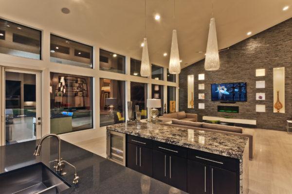Contemporary Open Concept Floor Plan - San Antonio Custom Home