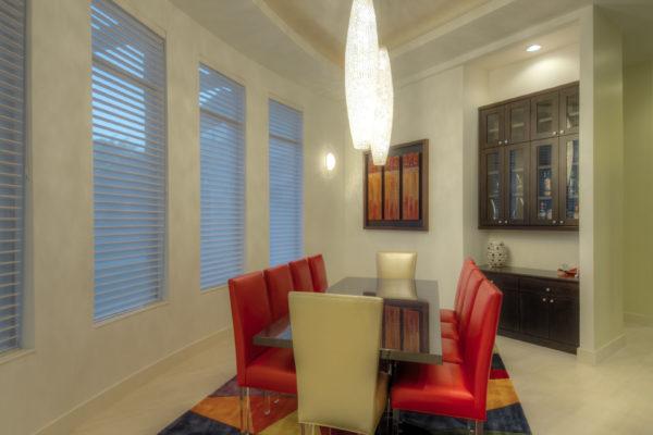 Contemporary Dining Room - San Antonio Custom Home