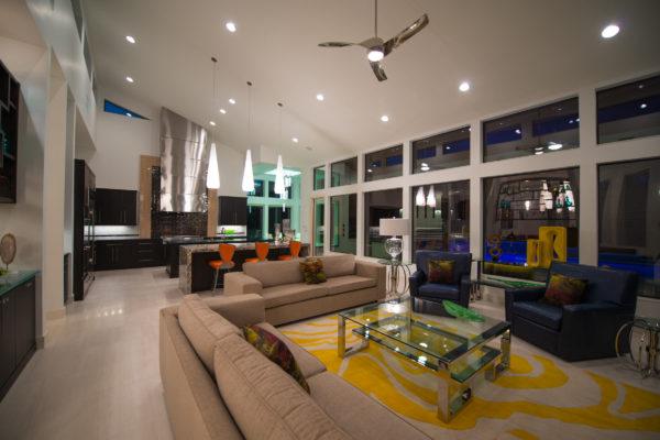 Contemporary Open Floor Plan Concept - San Antonio Custom Home