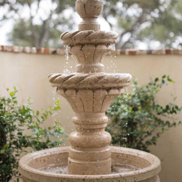 Fountain Idea for a San Antonio Custom Home