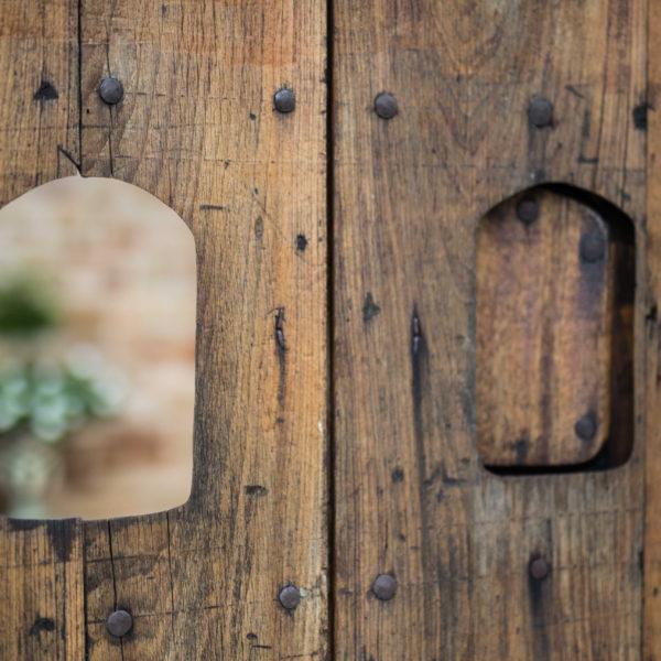 Wooden Country Exterior Door for San Antonio Custom Homes