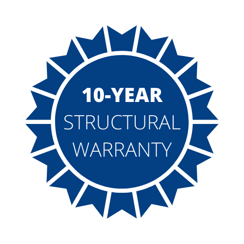 Lifestyle 10-Year Structural Warranty