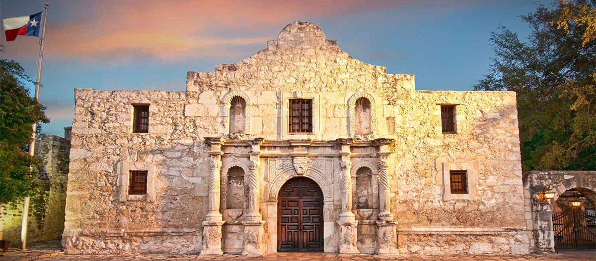 The San Antonio Alamo on Lifestyle by Stadler