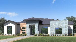Modern San Antonio Custom Home in the Canyons of Scenic Loop