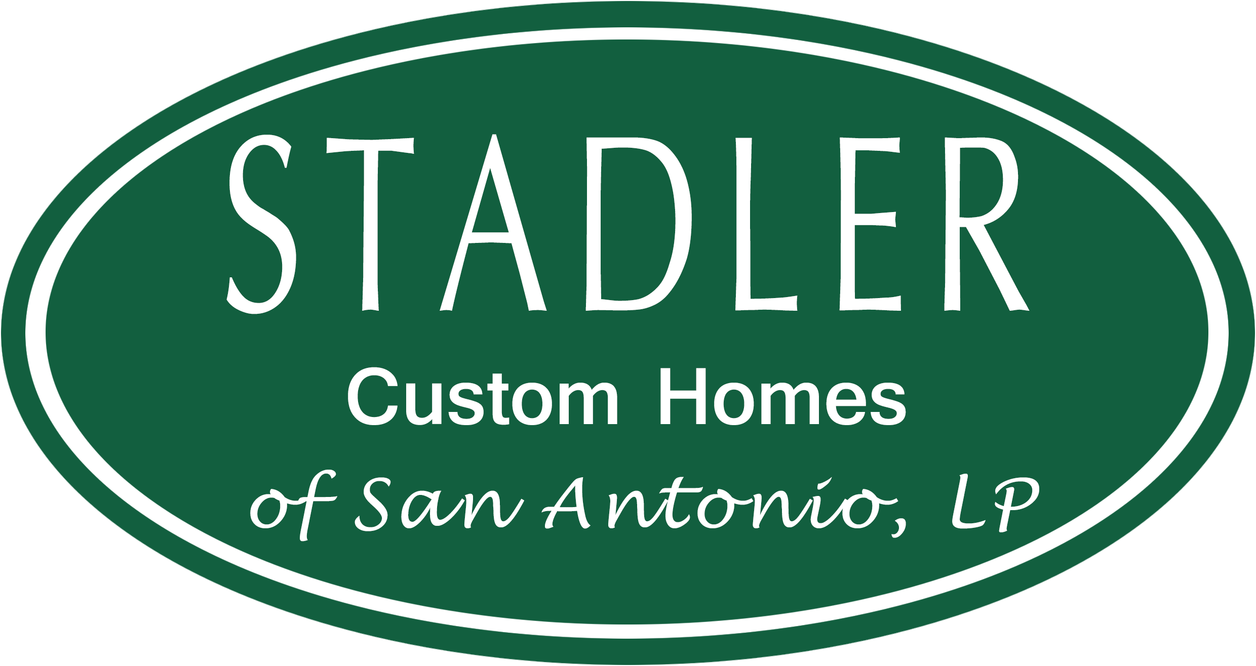 Very First Stadler Custom Homes of San Antonio Logo