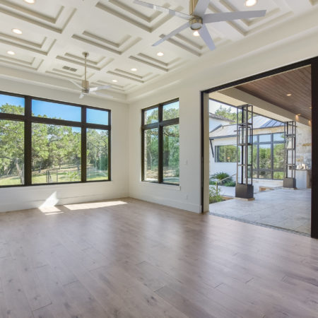 Master Bedroom with Open to Back Porch in Cordillera Ranch