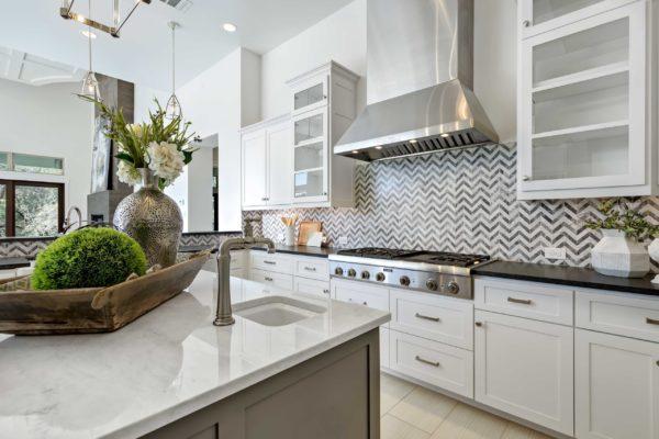 San Antonio Custom Home Modern Kitchen