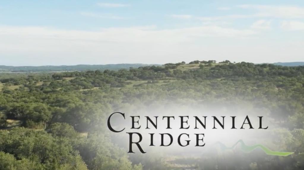 Centennial Ridge Video