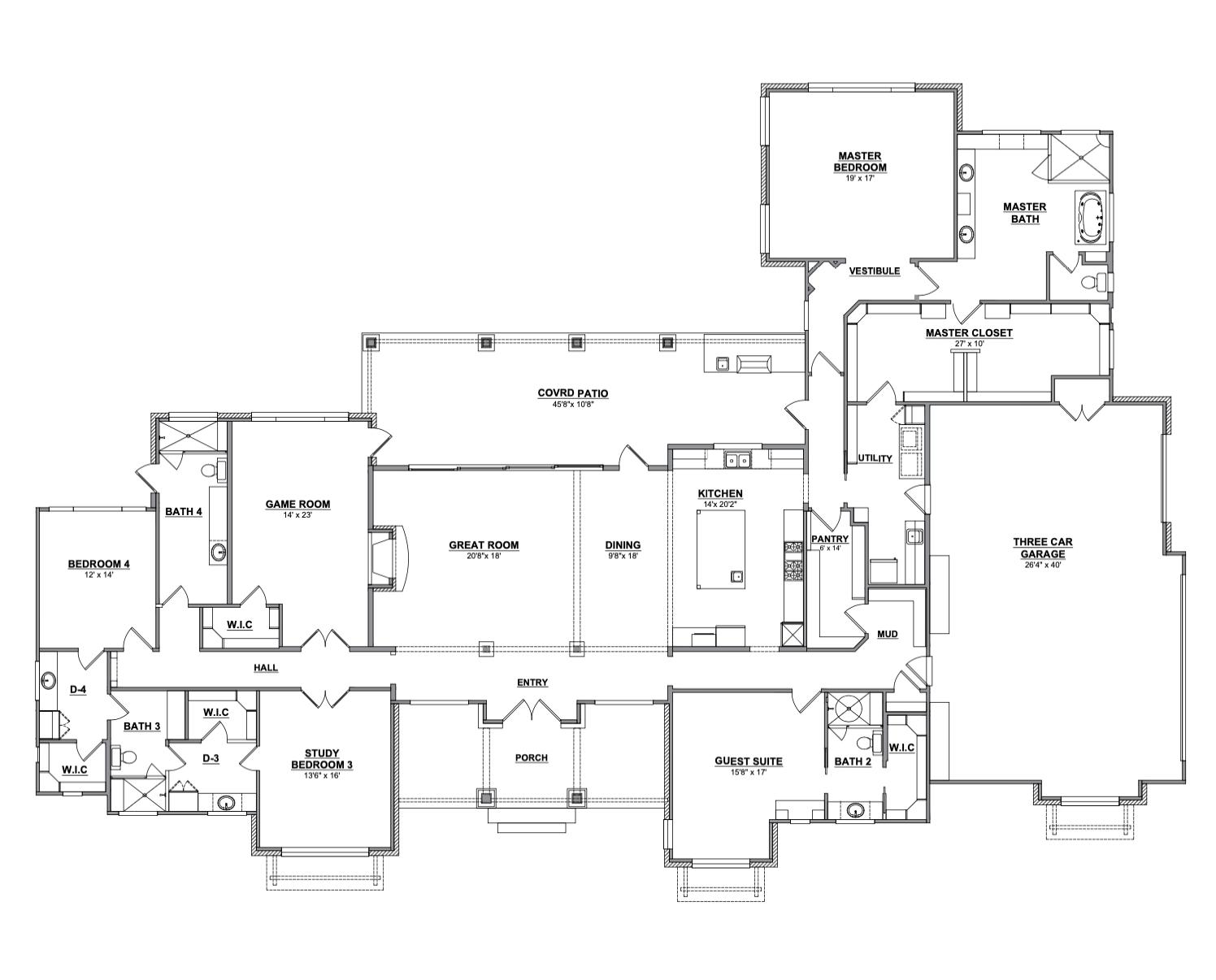 Centennial Ridge House Floor Plan