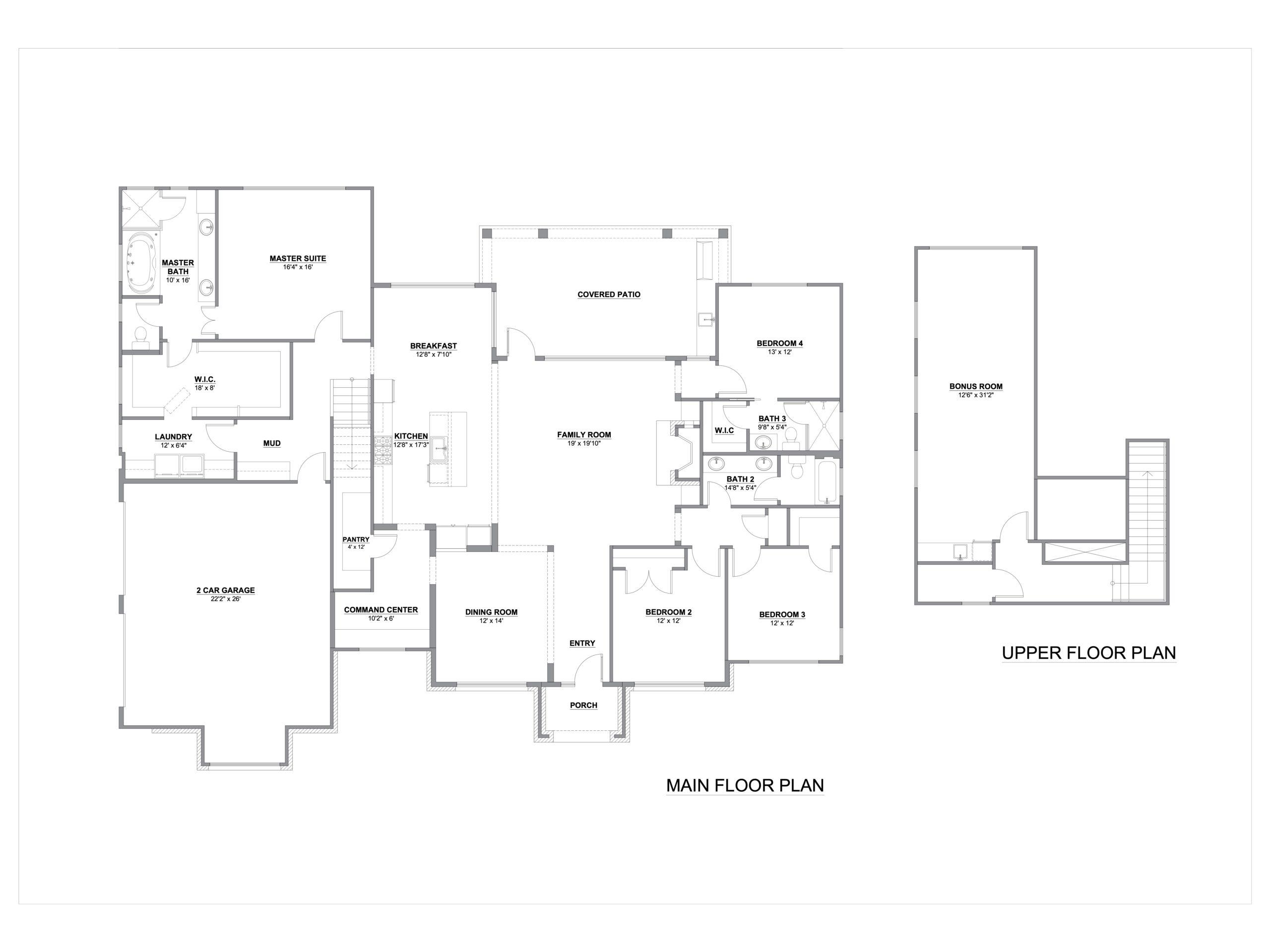 Spring Branch Tx House Plan