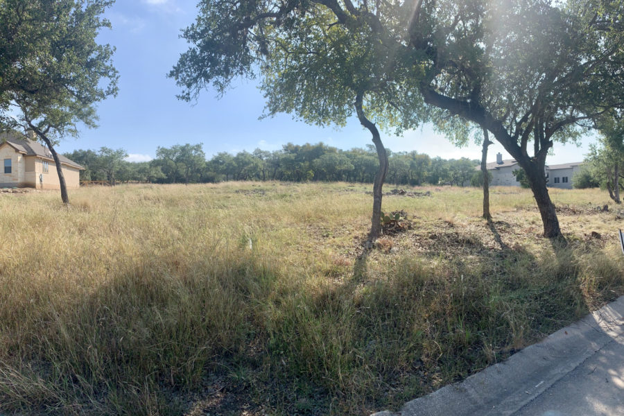 Lot 46 Street View in Cascada at Canyon Lake