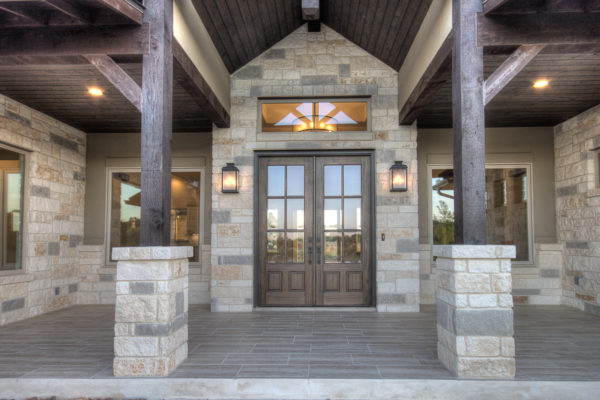 Boerne Custom Home Builder - Hill Country Transitional