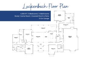 Floor Plan - Luckenbach