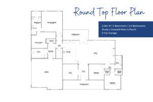 Floor Plan - Round Top