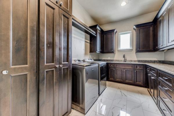 San Antonio Custom Home Builder - Traditional Style Home Utility
