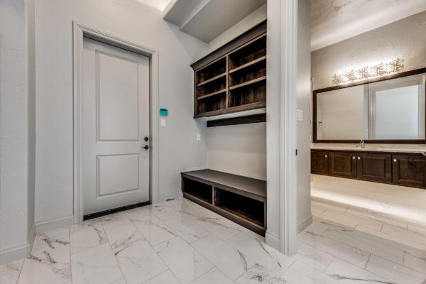 San Antonio Custom Home Builder - Traditional Style Home Mud Room