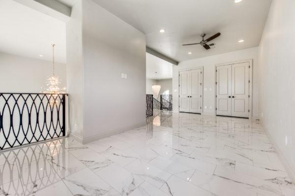 San Antonio Custom Home Builder - Traditional Style Home TV room