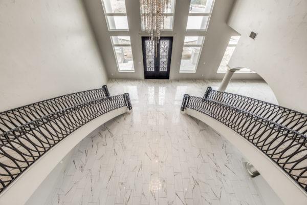 San Antonio Custom Home Builder - Traditional Style Home Balcony