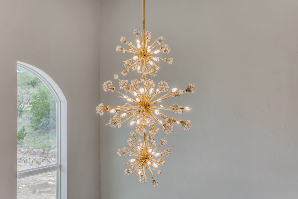 High-End Light Fixture - Traditional Style Home