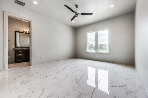 San Antonio Custom Home Builder - Traditional Style Custom Home - Guest Bedroom