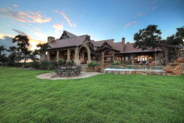 San Antonio Custom Home Builder - Tuscan Country Style Home