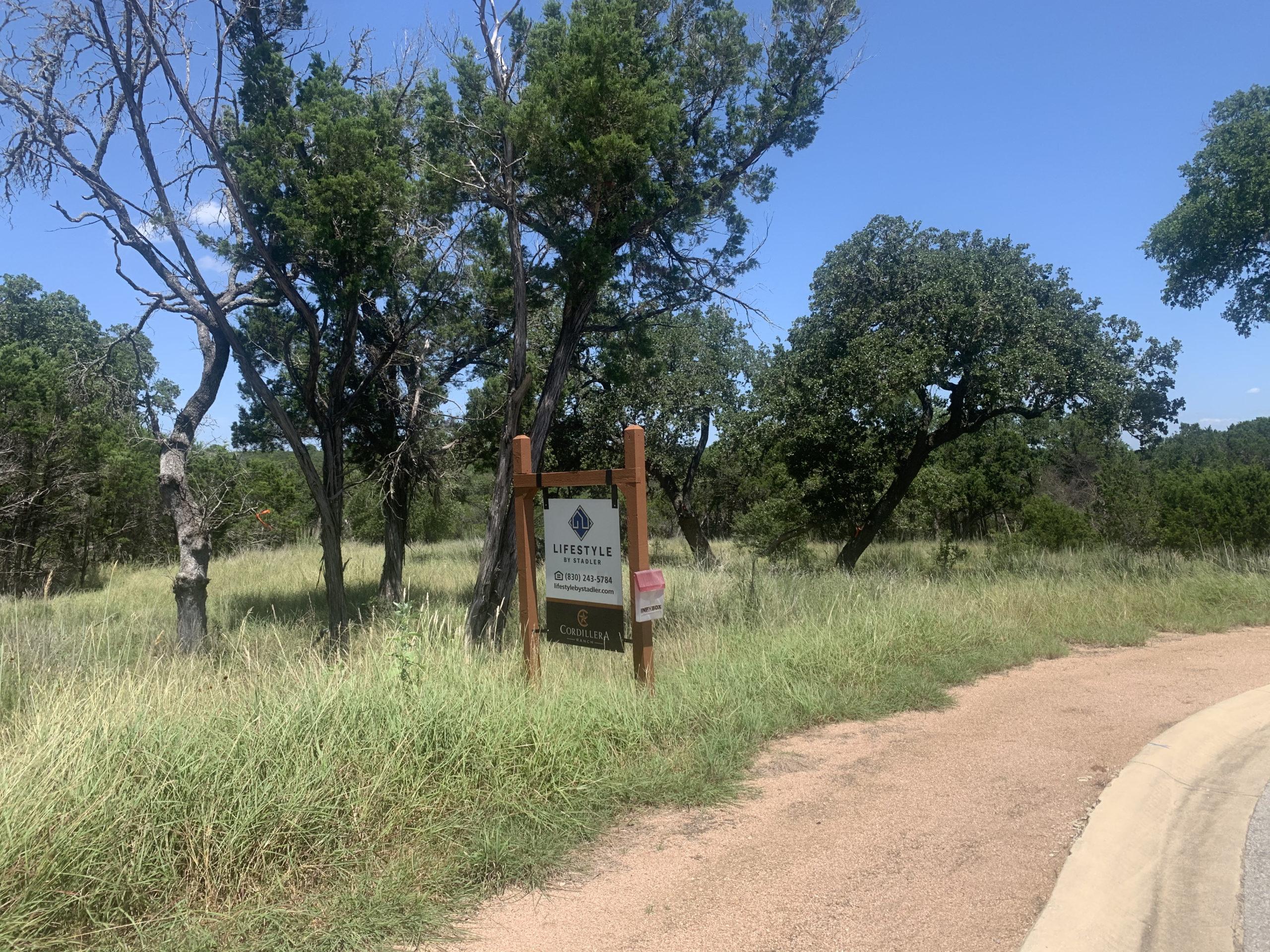 Cordillera Ranch Lot for Sale